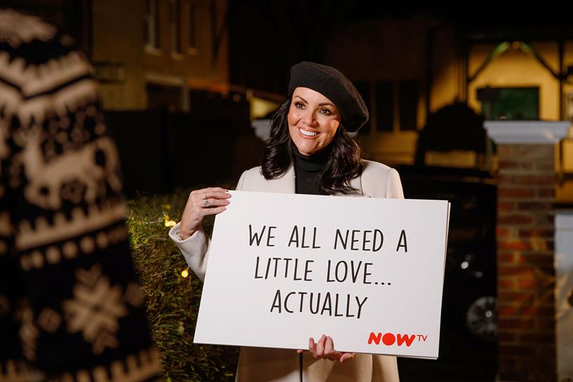 Now Tv Enlists Martine Mccutcheon To Launch Love Actually Inspired Greetings Experience