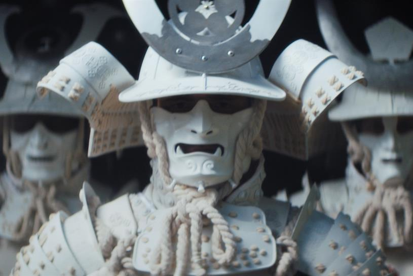 O2 takes inspiration from samurai culture in Rugby World Cup campaign