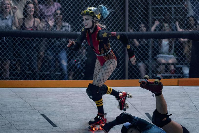 Warner Bros hosts roller disco inspired by world of Harley Quinn