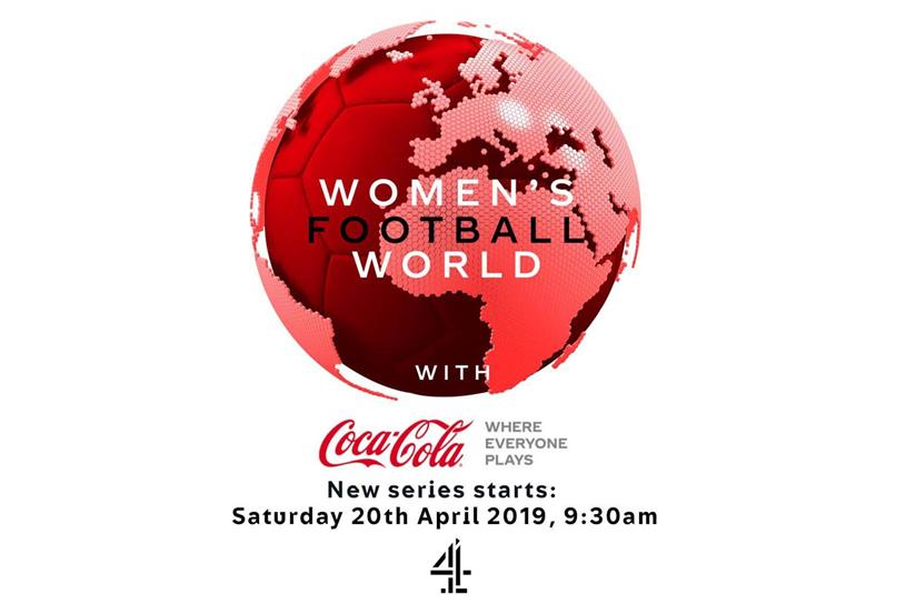Coca-Cola partners Channel 4 for women's football show