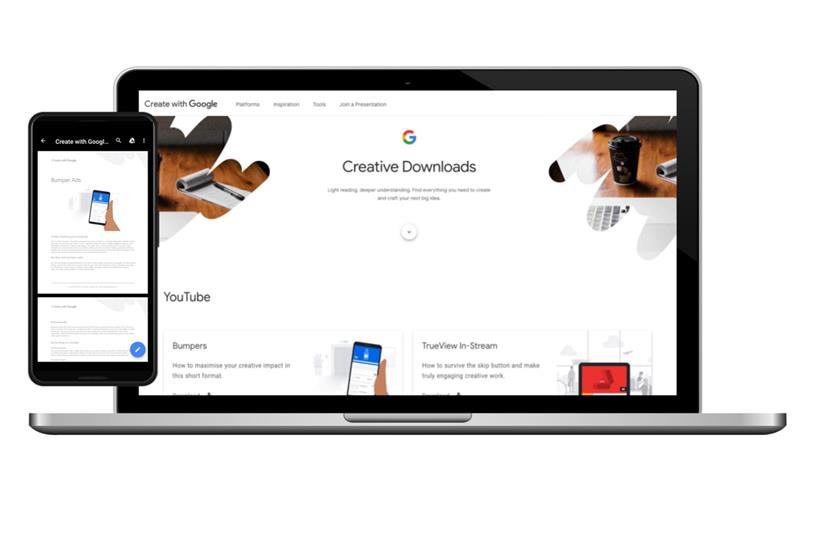 Create with Google launches globally at Cannes
