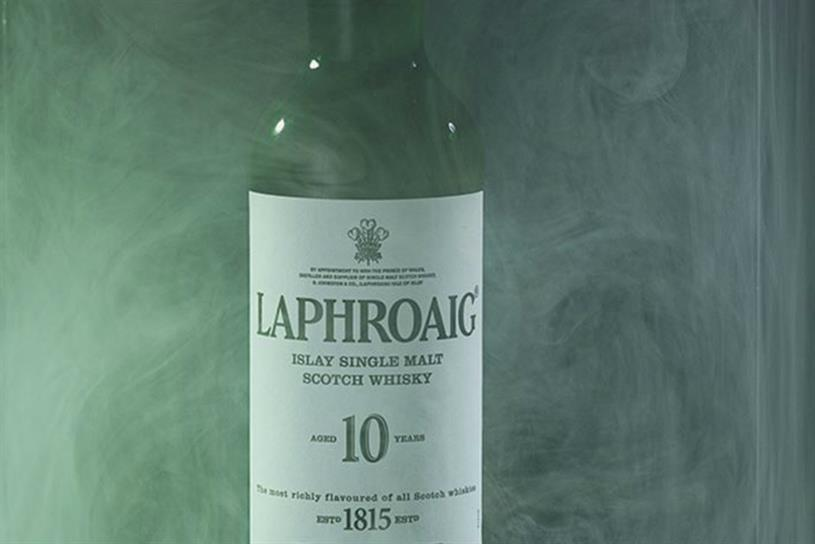 Laphroaig brings its smoky flavour to life