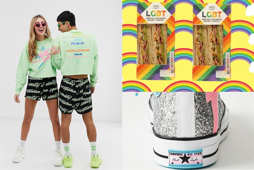 The good, the bad and the lazy: Converse, Budweiser and more celebrate Pride