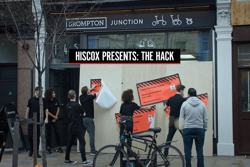 "Hiscox ""The hack"" by AMV BBDO"