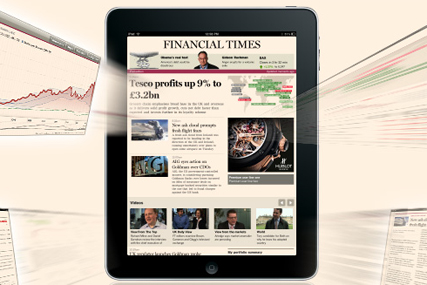 Financial Times unveils iPad app
