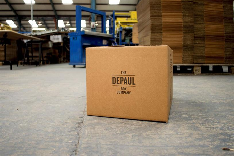 Depaul Box Company: founded by Publicis London in aid of the Depaul UK charity