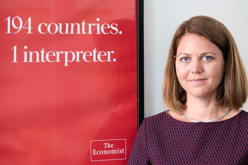 Marina Haydn, EVP circulation and retail marketing at The Economist
