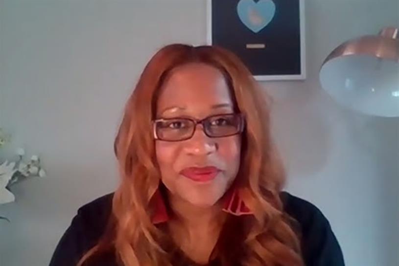 Karen Blackett was speaking at Media360