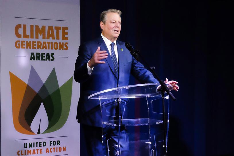Al Gore: readies second climate change film