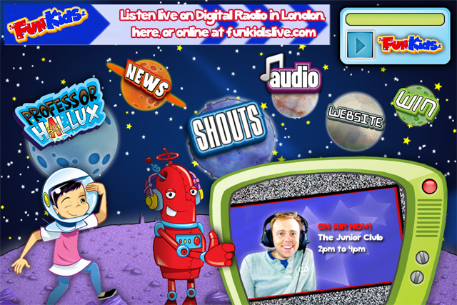 Fun Kids: new podcast network lauched