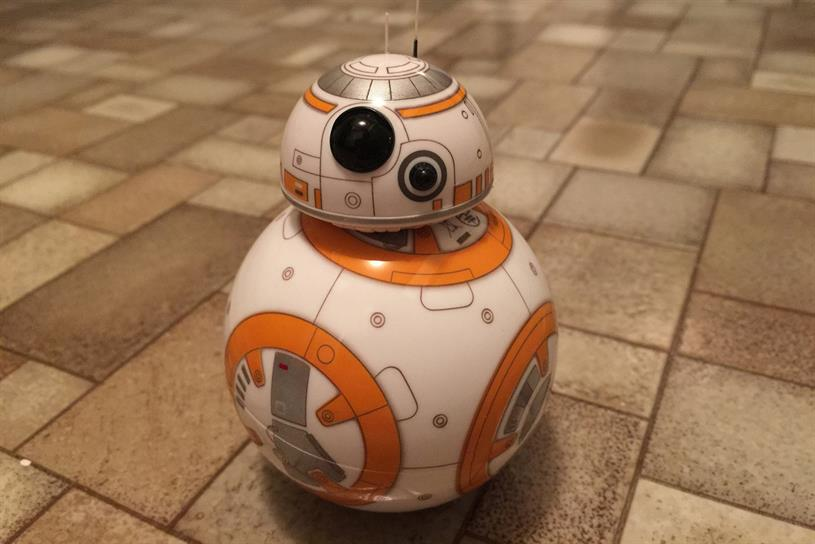 Star Wars droid BB-8. Photo: James Honeyball (Flickr)