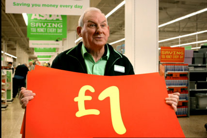 Asda: to relaunch its own-label food range