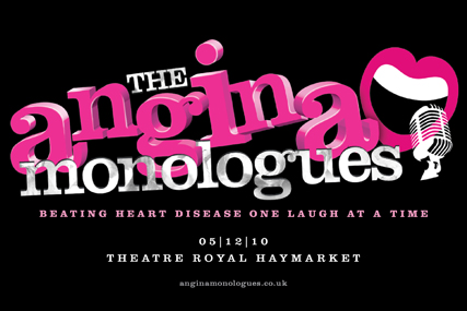 BHF: targets women with The Angina Monologues
