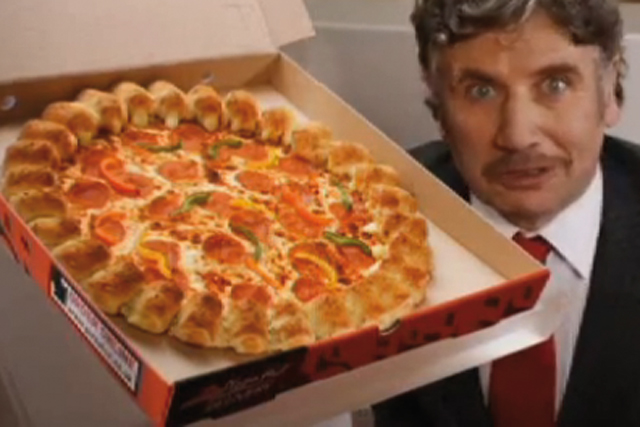 pizza hut delivery launches spoof ad exclusively on e4