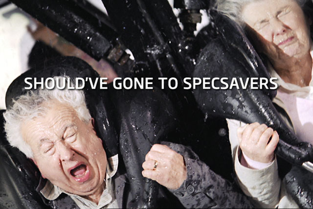 Specsavers: 'rollercoaster' campaign