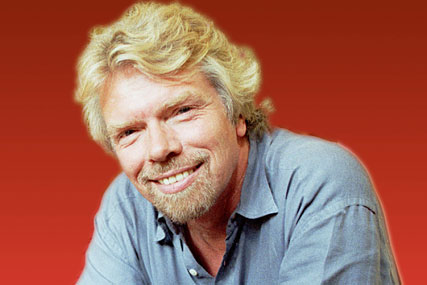 Sir Richard Branson: founder of the Virgin Group