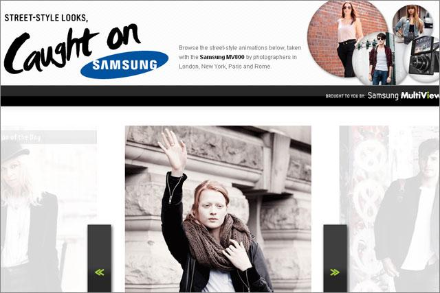 Samsung: partners with Condé Nast for digital campaign