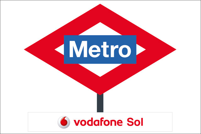 Vodafone: becomes first long-term sponsor of a Madrid Metro line