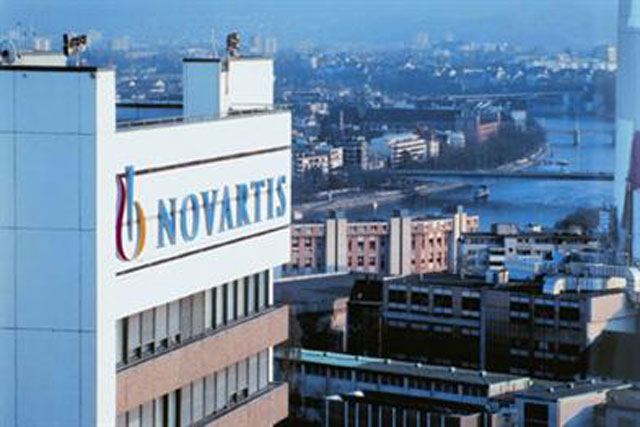 Novartis: drug manufacturer's headquarters in Basel, Switzerland
