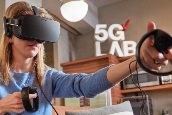 Verizon: operates five 5G studios in US
