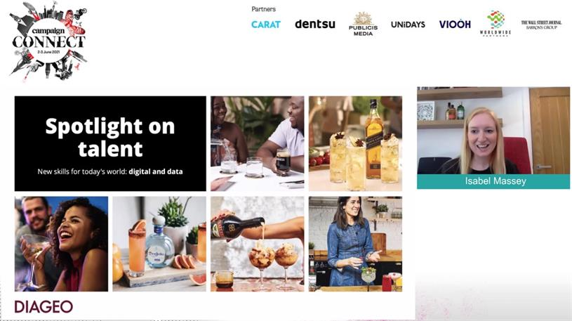 Diageo: Massey spoke at Campaign Connect