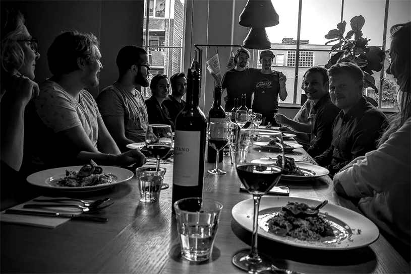 The 72andSunny Amsterdam office staff run a number of cultural and charitable initiatives such as Ride for Amatrice, Sci-fi Cinema and MorningEditions.