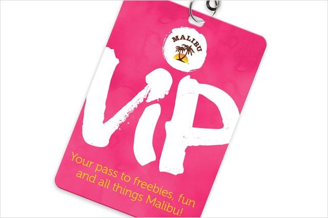 Malibu: unveils VIP-themed Facebook app