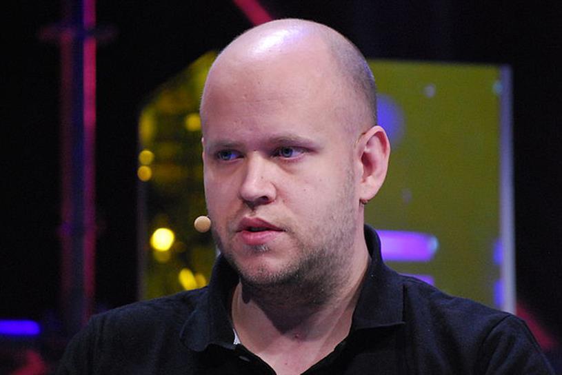 Spotify founder, Daniel Ek