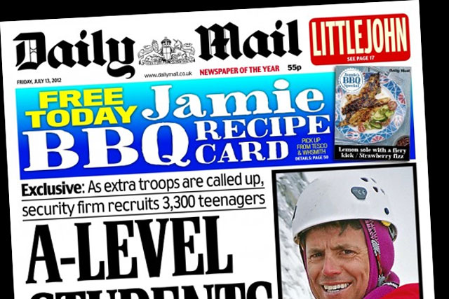 The Daily Mail: reports an average circulation of 1,939,635 in June