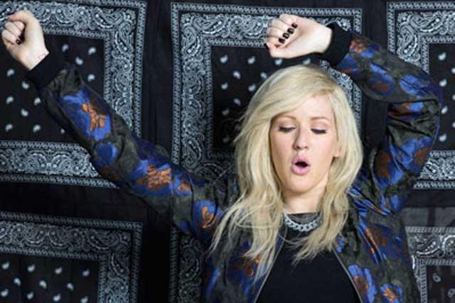 Ellie Goulding: stars in Asos Christmas activity