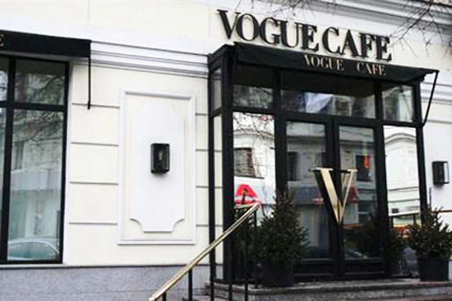 Vogue Cafe, Moscow: established by Condé Nast last year