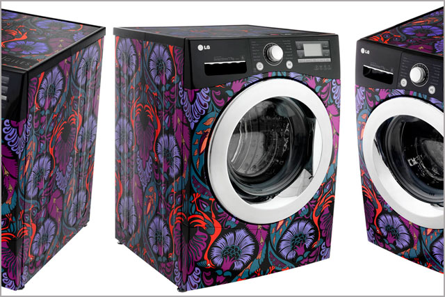 Lg Electronics Brings Out Designer Washing Machine Campaign Us