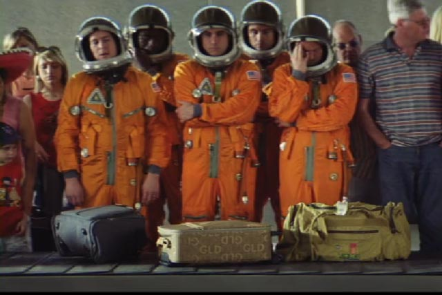 specsavers astronaut tv ad takes off
