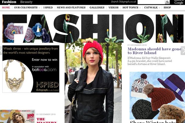 Christmas Fashion Hot Topics Telegraph