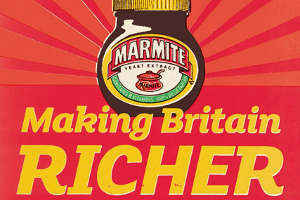 This mock election poster from 2010 may seem ironic to Marmite shoppers at Morrisons