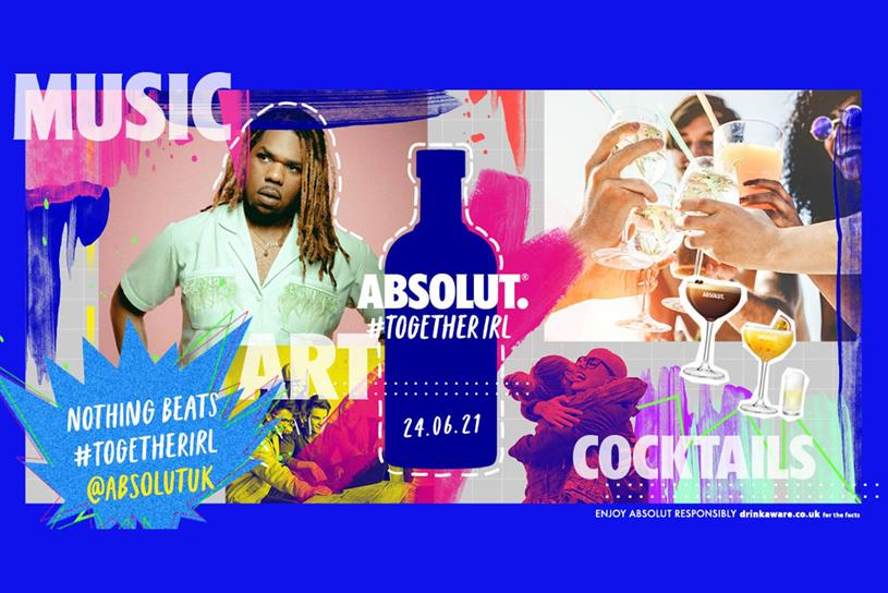 Absolut: MNEK also appeared in Absolut's ad and content series
