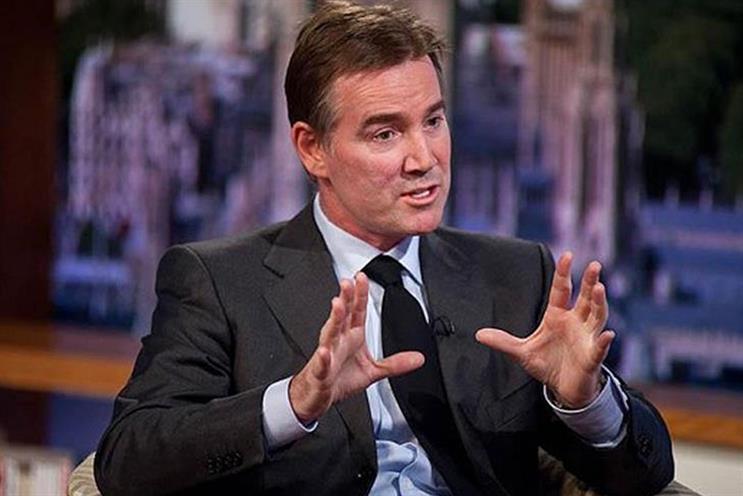 ITV: outgoing chief executive Adam Crozier