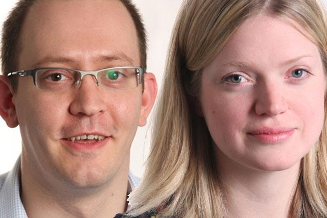 Jonathan Weeks, director, and Laura Furniss, development manager, Ipsos MORI Marketing