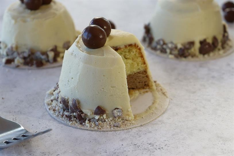 Maltesers: AI cake has a Marmite-infused buttercream frosting
