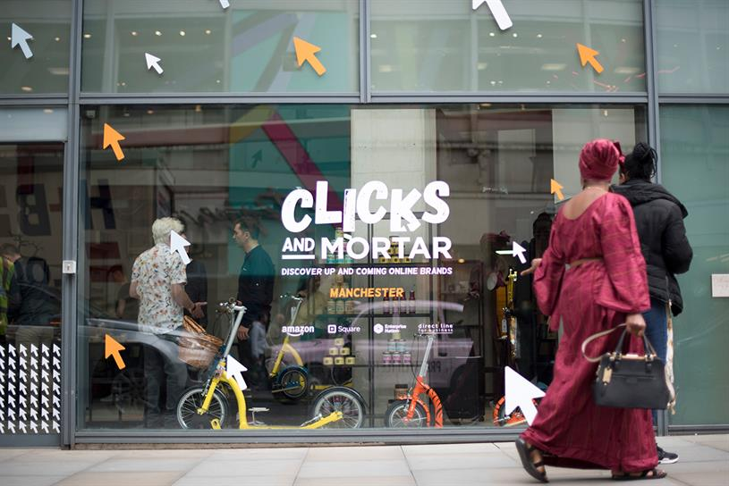 Amazon to support opening of ten 'Clicks and Mortar' pop-ups