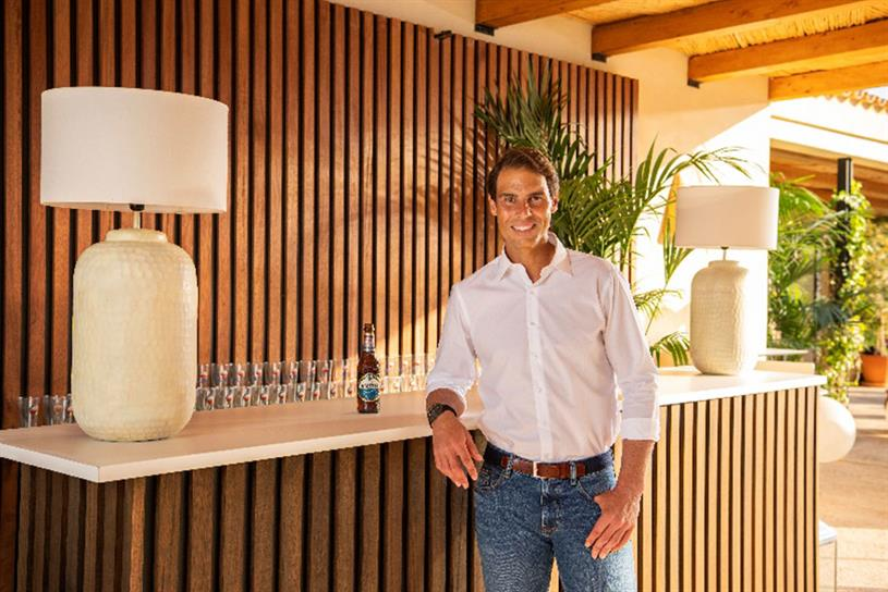Amstel: Nadal will feature in global marketing activities including TV spots