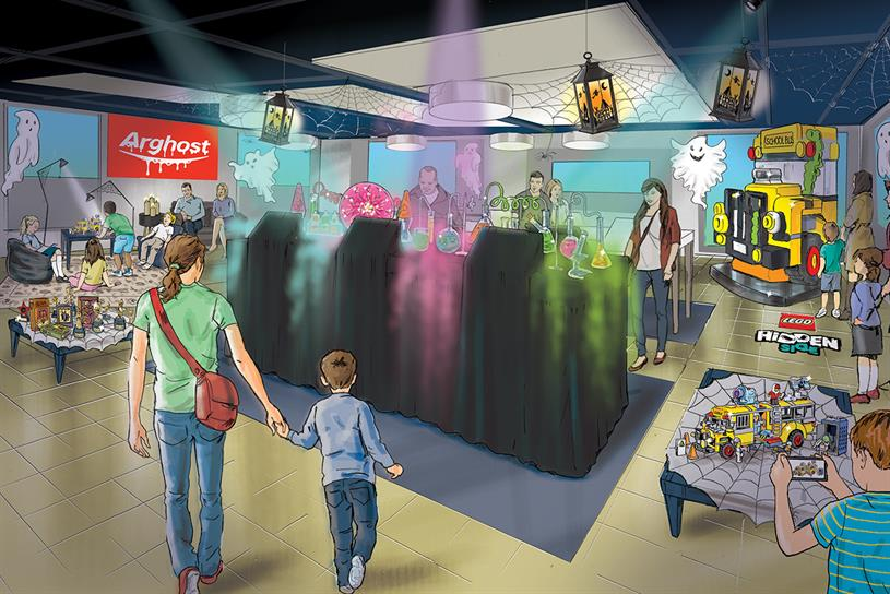 Argos: in-store experience will centre on Lego's Hidden Side range