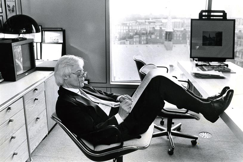 David Abbott: co-founder of Abbott Mead Vickers