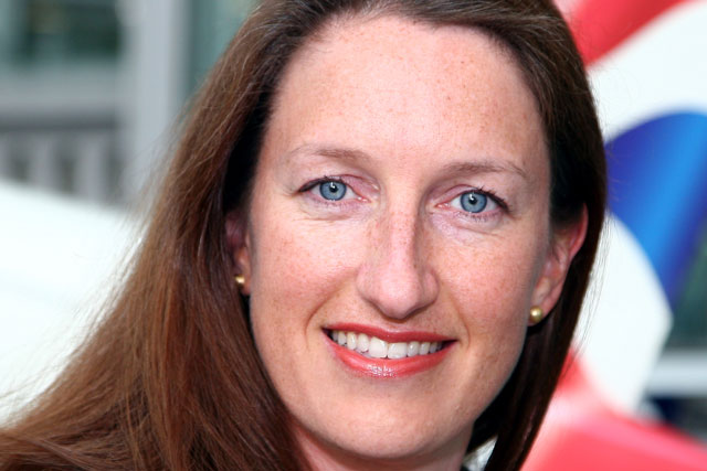 Abigail Comber: hiring a 'huge coup'