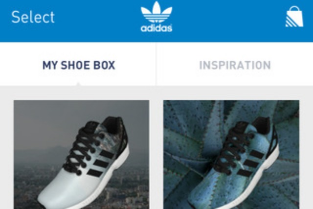 reputable site b13ba 5a907 Adidas Originals app lets consumers personalise trainers with selfies   Campaign US