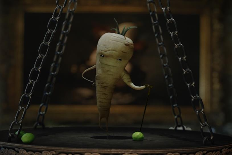 Aldi S Kevin The Carrot Battles Parsnip In Festive Campaign