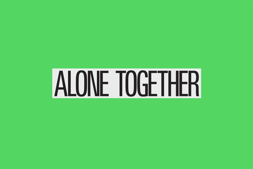 #AloneTogether: artists taking part include Charli XCX and Ghetto Gastro
