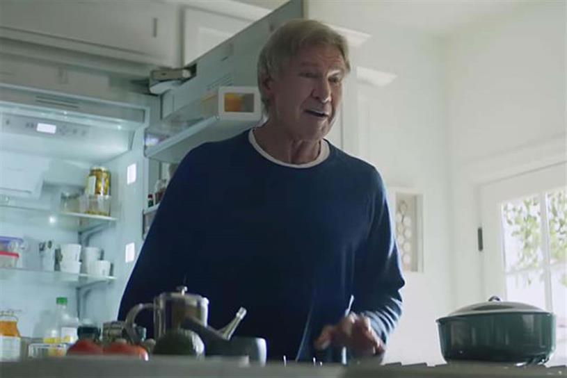 Amazon: Super Bowl ad featured celebrities including Harrison Ford