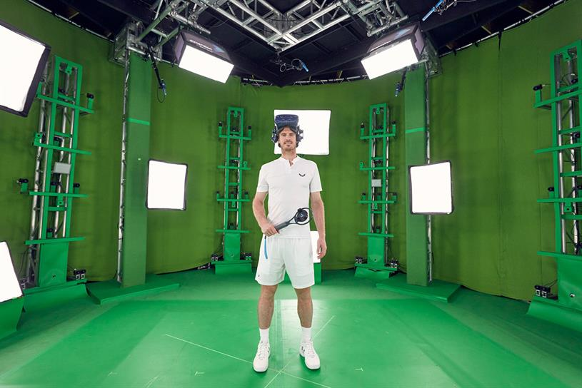 Andy Murray: part of American Express' Wimbledon activation