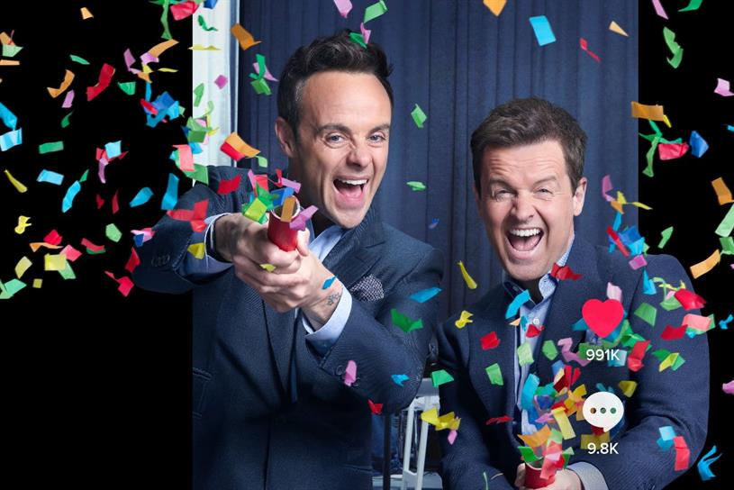 Ant and Dec: campaign marks next phase of TikTok's partnership with the pair